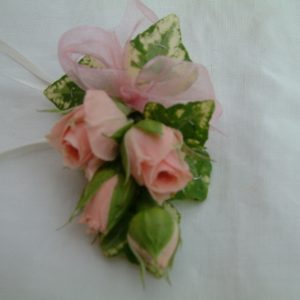 Dainty Jacket Corsage