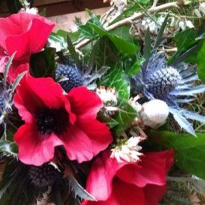 Scottish style wreath