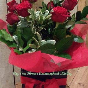 Romantic Box of roses