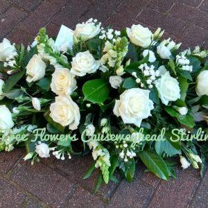 Classic funeral tribute