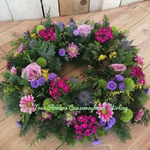 Traditional style wreath