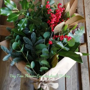 Christmas Berries and Foliage