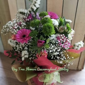 Bay Tree Flowers Design in a Vase